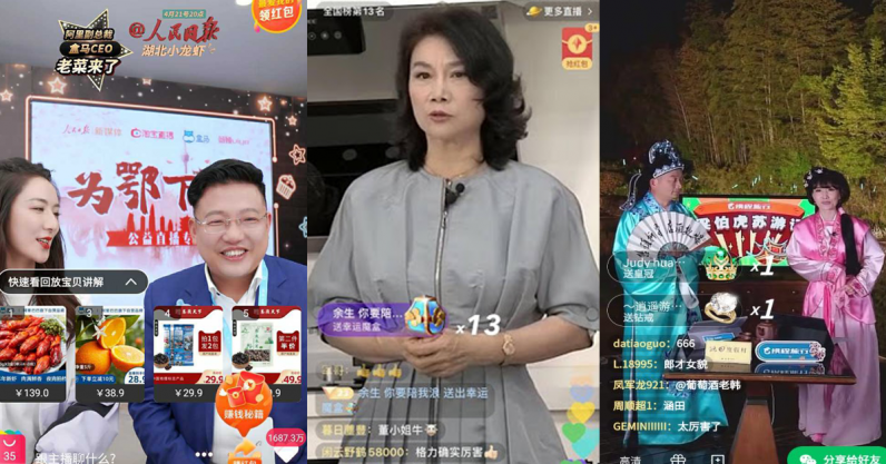 china China's CEOs are making millions by selling their products on livestreams ceo streaming header 796x417 1